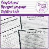 Receptive & Expressive Language Baseline Data!