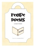 Recipe Poem activity or center