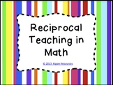 Reciprocal Teaching in Math - Candy Stripe Version