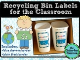 Recycling Bin Labels (EDITABLE): Create Custom Bins for Yo