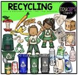 Recycling Clip Art Bundle