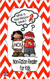 Red Ribbon Week- Drug Awareness: Non-Fiction Reader for Yo
