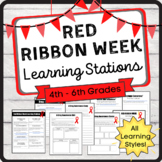 Red Ribbon Week Learning Stations