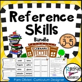 Reference Skills Posters and Center cards, Stations, Bookl