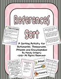References Sort