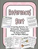 References Sort