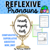 Reflexive Pronouns Activities!  2nd Grade Common Core 2.L.1c