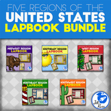 Regions of the United States Lapbook or Interactive Notebo