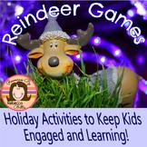 Reindeer Games!  Christmas Activities