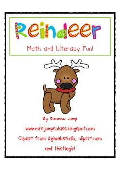 Reindeer Math and Literacy Fun