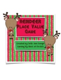 Reindeer Place Value Game