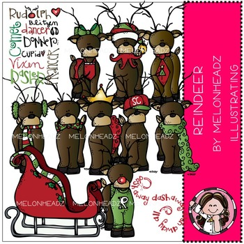 Reindeer bundle by melonheadz