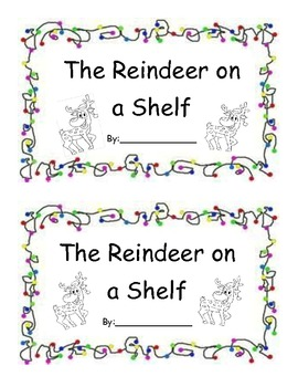 Reindeer on a shelf