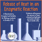 Lab Release of Heat in an Enzymatic Reaction (Catalase)