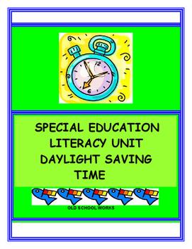 Literacy Unit:  Daylight Saving Time