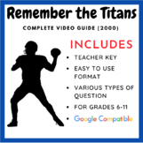 Remember the Titans Movie Guide (Teacher Created)