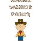 Represent a Number - Wanted Poster