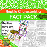 Reptile Characteristics Fact Pack {What makes a reptile a