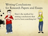Writing: The Ultimate Guide to Writing Conclusions for Res