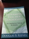 Research: Teacher Leadership book by Reeves --  ASCD Used Book