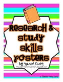 Research and Study Skills Posters