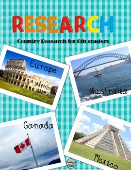 Research for 5th and 6th Graders: Mexico, Canada, Europe,