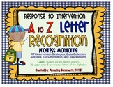 Response to Intervention - Letter Recognition