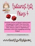 Restaurant Math Volume 4