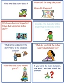 Retelling/ Summarizing Reading Comprehension Flashcards