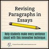 Revising Paragraphs in Essays