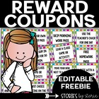Reward Coupons for Your Students