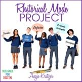 Rhetorical Mode Project for AP English Language & Composition
