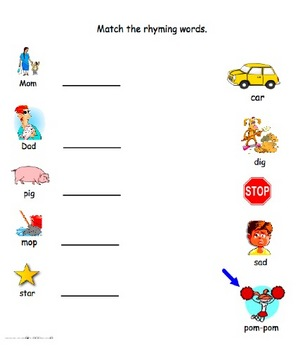 Rhyme Time Smartboard Games