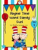 Rhyme Time Word Family Fun!