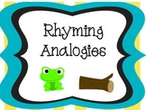 Rhyming Analogies CCSS