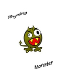 Rhyming Monster card game