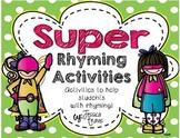 Rhyming {Super Rhyming Activities!}