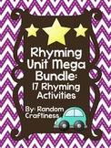 Rhyming Unit Mega Bundle: 17 Rhyming Activities
