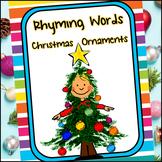 Rhyming Word Ornaments - A Christmas Unit