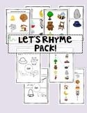 Rhyming Words Pack: Let's Rhyme!