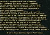 Rhythm Wars: In the Beginning PowerPoint Edition