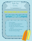 Ride the TIDE:  SRSD Writing Unit for Informational/Explan