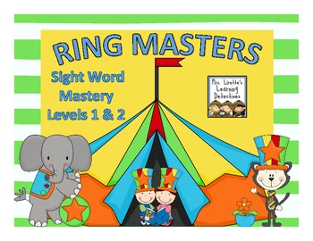 Ring Masters Sight Word Mastery Combo Pack: Level 1 and 2