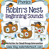 Beginning Sounds - Robin's Nest