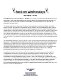 Rock On Wednesdays Poetry Analysis - Baba O'Reilly The Who