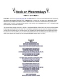 Rock On Wednesdays Poetry Analysis - Free Bird by Lynard Skynard