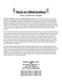 Rock On Wednesdays Poetry Analysis - Knockin' on Heaven's