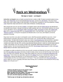Rock On Wednesdays Poetry Analysis - Stairway to Heaven by