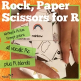 Rock Paper Scissor for R articulation