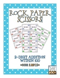 Rock, Paper, Scissors: 2-Digit Mental Addition